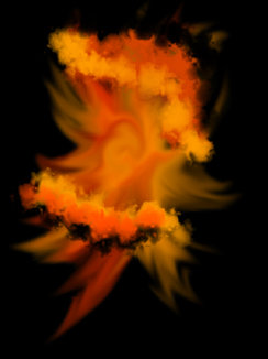 black and orange nebula - photo #19